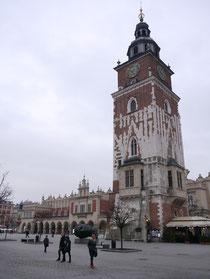 クラクフ 旧市庁舎の塔