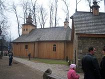 ザコパネ、旧木造教会(聖マリア教会)