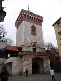 クラクフ フロリアンスカ門