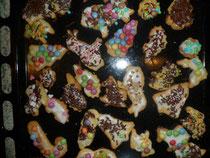 Viele, viele bunte Kekse!