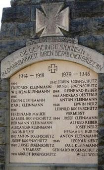 Gemeinde Sickingen