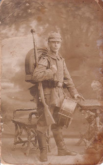 1915 wurde Erwin Käser aus Flehingen zum Militär eingezogen.