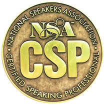 Certified Speaking Professional CSP