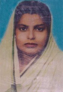 Shakil Syeds Mutter - Namensgeberin der Schule