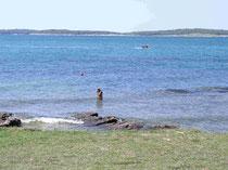 Herrlicher Strand gut zum Schnorcheln