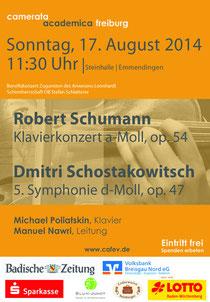 Steinhalle Emmendingen | 17. August 2014