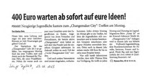 """Solinger Tageblatt Changemaker City"""