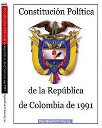 Estructura Constitución Política De Col Mapa Mental