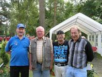 Eckhard Husch, Werner Salk, Armin Löbart, Stefan Stalmajer