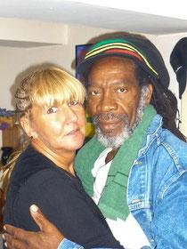 Andrea Hollenbach mit Lebensgefährten Roland