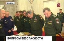 Коллегия Минобороны, 4 апреля 2014, Шойгу, Герасимов, Булгаков, Садовенко, Попов, Басик, Кикнадзе