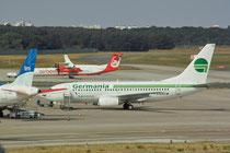 Boeing 737-700 in TXL ©Andreas Unterberg
