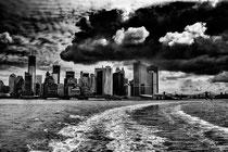 Ciel lourd sur New York