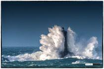Le phare du four sous la tempete