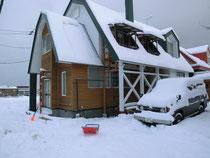 新年の除雪スタート
