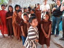 Visite daéns les communautés natives