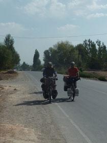 1ers kms au Kirghistan