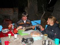 Diner de français à Humahuaca
