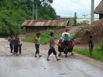 Traversée de petits villages