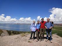 Ballade au dessus du lac Titicaca