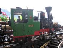 2. kleine Dampflokomotive