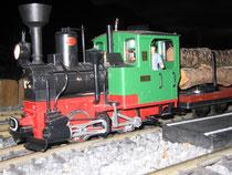 Kleine Dampflokomotive