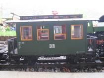Grüner Personenwagen