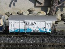 Albula Gepäckwagen