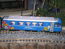 2. Klass Arosasteuerwagen