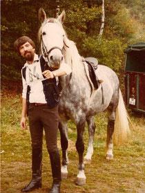 Hanno Klimkeit mit Pferd