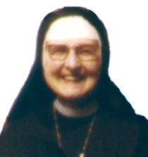 suor Ersilia nel 1975