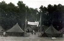 Zeltlager 1950
