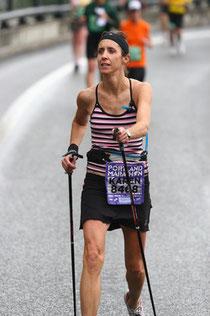 karen Asp, ganadora de la marathon de Portland