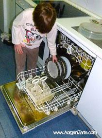 lavaplatos niños - www.AorganiZarte.com