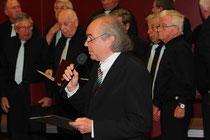 Horst Semler moderiert den Liederabend