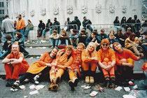 アムステルダム 女王の日のダム広場