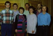 Der erste Vorstand von 1992