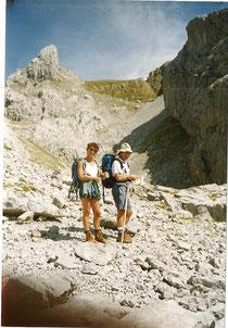 Nous étions 3, Mireille, Gérard et moi.