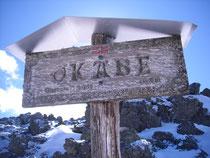 Au sommet d'Occabé.