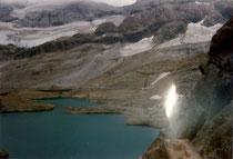 Le lac de Tuquerouye, ou lac Glacé de Pinéta.