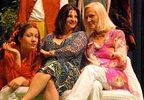Drei Generationen Sopran (Simone Lerch, Regina Kabis und Prof. Inge Möller)