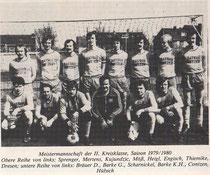 Meistermannschaft 1979/80