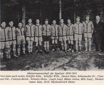 Meistermannschaft 1930/31