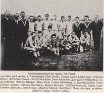 Meistermannschaft 1967/68