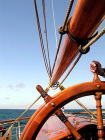 Schiffsruder. Pixabay.