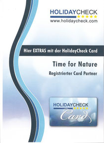 HolidayCheck Card