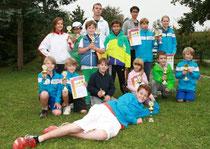 Die Erstplatzierten der Jugendmeisterschaften 2012