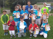Die Erstplatzierten der Jugendmeisterschaften 2013