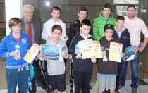 Die Finalisten des A.L.S.-Jugendcup 2013