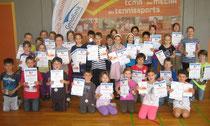 Sieger des GenoBank-Schulturniers in der Wilhelm-Schussen-Schule Kehlen
